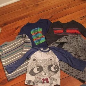 Other - Lot- toddler long sleeved shirts 18 months